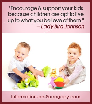 encourage & support your kids